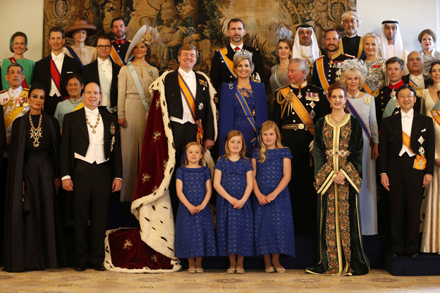 Etiquette of addressing Royals